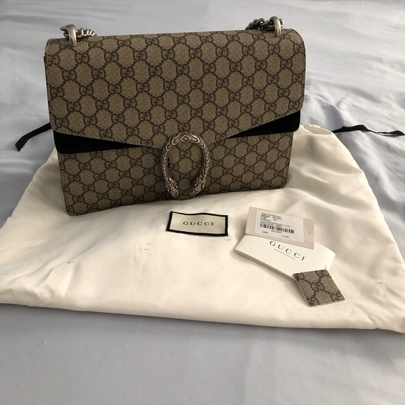 ac89a61df8951b Gucci Bags | Medium Gg Supreme Dionysus Shoulder Bag | Poshmark